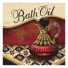 Bath Oil  Giclee Print  by Gregory Gorham