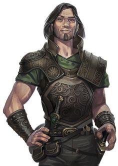 half-elf, human, rogue, fighter, warrior, thief