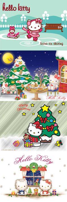 Hello Kitty, Ice Skating Christmas