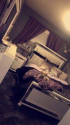 Home decor 7 Blessed Tips: Bedroom Remodel Diy Woods master bedroom remodel framed mirrors. Dream Rooms, Dream Bedroom, Home Decor Bedroom, Girls Bedroom, Bedroom Ideas, Master Bedroom, Diy Bedroom, Master Suite, Silver Bedroom Decor