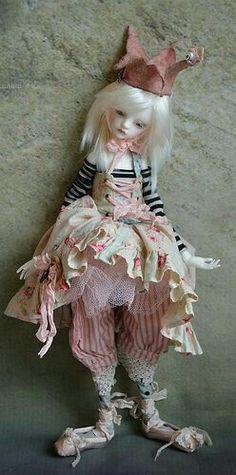 Doll Chateau Bella Fairy World & Fantastic Creatures Keka❤❤❤ Clay Dolls, Bjd Dolls, Doll Toys, Fairy Dolls, Pretty Dolls, Beautiful Dolls, Art Magique, Paperclay, Little Doll