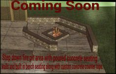 Concrete fire Pit Pictures and Ideas by T & H Foundations and concrete services in St charles mo