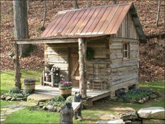 """i wanna build this, make it look like a miniture """"rocky  top """" house....some of you know what I mean...."""