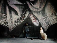 L'Orfeo, Regie: Barrie Kosky, Bühnenbild und Licht: Klaus Grünberg, Staatsoper Berlin, 2003