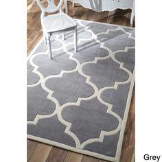 nuLOOM Handmade Luna Moroccan Trellis Rug (5' x 8') - Overstock™ Shopping - Great Deals on Nuloom 5x8 - 6x9 Rugs