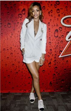 Rihanna wearing our Jefferson Blazer