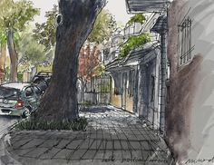 Urban Sketchers of Buenos Aires  Parque Chas