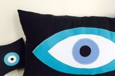 Cushions - Evil Eye cushion