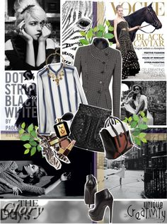 """""""Polka dot mix with stripe"""" by hieuanh ❤ liked on Polyvore"""