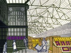Edward Bawden - Covent Garden
