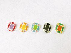 宝石のブローチ by rico アクセサリー コサージュ・ブローチ | ハンドメイド、手作り作品の通販・販売 minne(ミンネ)