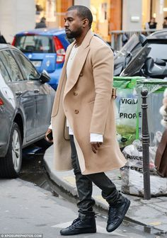 Nice coat, Kanye!