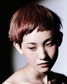 hair:高橋正樹 make:岡崎 翔 photo:松山優介 ©︎ IZANAGI 04/2016