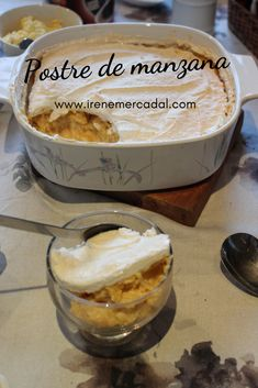 Postre de manzana - Postres - Irene Mercadal - Mini Gourmet This apple dessert is a classic delight Sweet Recipes, Real Food Recipes, Yummy Food, Gourmet Apples, Apple Desserts, Dessert Drinks, Cooking Time, Breakfast Recipes, Sweet Treats