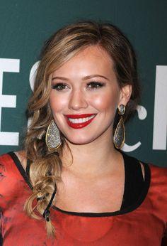 Hilary Duff- love the makeup!!