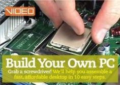 Learn how to build a PC system from scratch. You'll learn how to install computer hardware and software..