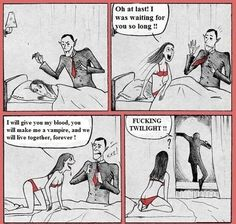 Comics - For our Twilight fans - www.funny-pictures-blog.com