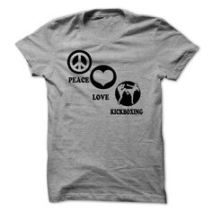 nice peace - love - kickboxing - Best reviews of Check more at http://favoriteman.info/peace-love-kickboxing-best-reviews-of/