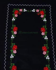 Bir iş daha bitti şükür ✋ #etamin #seccade #rosa#redroses #embroidery #ceyiz