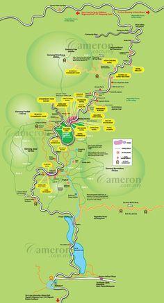 Info over Cameron Highlands