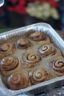 Pioneer woman Cinnamon Rolls. These are the best that I have ever had!