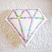 Úžitkový textil - Diamonds are a girls best friend - 7193504_