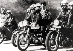 Cafe Racer culture #rockers #motorcycles #caferacer