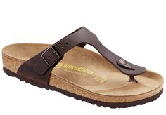 BIRKENSTOCK- WOMENS' GIZEH OILED LEATHER | HABANA