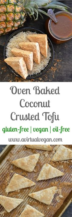 Simplicity at it's best! With just two ingredients & 35 minutes of your time you could be tucking into this delicious Coconut Crusted Tofu. Could it get any better? ……. Well yes actually…..Because it's gluten-free, oil-fr