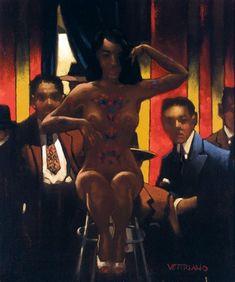 Jack Vettriano - The Tattoed Lady