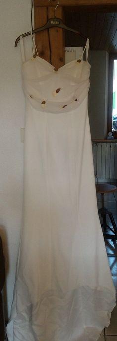 Robe de mariée d'occasion ivoire - Doubs
