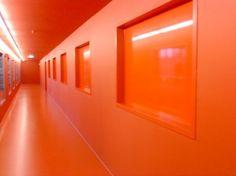 Orange Room Hallway