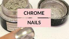 52 Weeks of Beauty - 2016 Week 7 - CHROME POWDER NAILS!