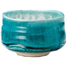 Mino-yaki Matcha Tea Bowl Turquoise Blue [Japan Import] Matcha Bowl, Amazon Coffee, Organic Matcha, Tea Bowls, Decorative Bowls, Turquoise, Japan, Blue, Green Turquoise