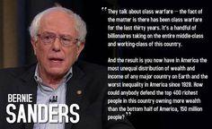 ~ Bernie Sanders