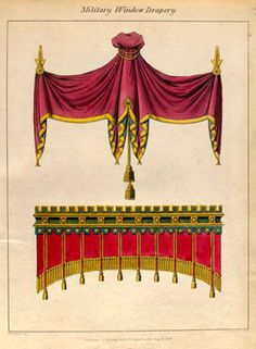 Chapter 4, Decorative Accessories - English Regency style window treatments