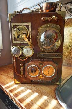 Industrial Art Machine Age Instrument Control by SteampunkShopArt