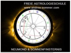 Schattentor - Neumond & Sonnenfinsternis - Astrologieschule und Wiener… Tarot, Astrology, Solar Eclipse, New Moon, Shadows, School, Tarot Cards, Tarot Decks