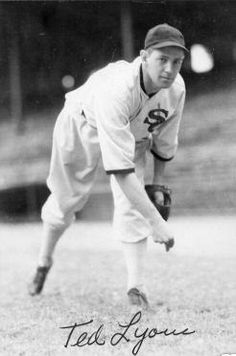 Ted Lyons Inducted 1955 - a friend of my Fathers' whom I met a number of times at the old Comisky Park.