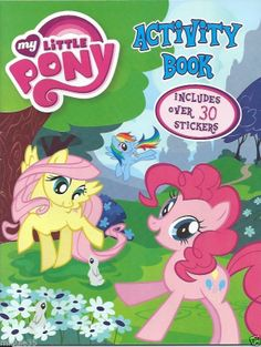 MY LITTLE PONY Coloring Book : Includes 30+ Stickers, Rainbow Dash & More