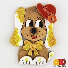 Pes s kloboukem  12 cm