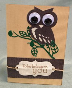 Couture Creations: Endless Dreams Decorative Dies | Owl Card