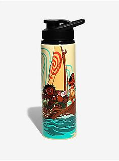 """<div>You might not be looking for a long lost fabled island like Disney's newest heroine Moana, but that doesn't mean you don't get thirsty! This stainless steel water bottle features Moana and Maui and is the perfect way to stay hydrated.</div><ul><li style=""""LIST-STYLE-POSITION: outside !important; LIST-STYLE-TYPE: disc !important"""">27 oz</li><li style=""""LIST-STYLE-POSITION: outside !important; LIST-STYLE-TYPE: disc !important"""">Stainless steel</li><li style=""""LIST-STYLE-POSITION: outside..."""