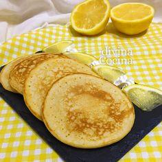 Esta receta de tortitas de limón se prepara en un momento. Son las clásicas tortitas tradicionales pero con un toque fresco y frutal.
