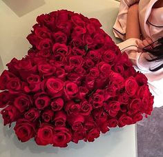 The love whit roses