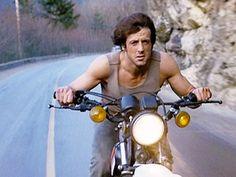 First Blood Motorcycle: Yamaha XT 250 Rider: Sylvester Stallone Rambo 3, John Rambo, Easy Rider, Ghost Rider, Rambo Series, Silvester Stallone, The Fall Guy, First Blood, Hand To Hand Combat