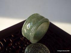 100% Natural Jadeite Jade Ring  A Grade  by Vintagecollection888
