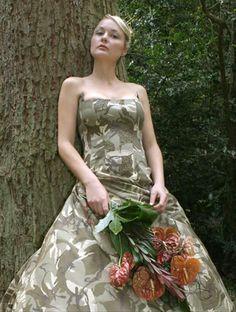 Wedding dress redneck