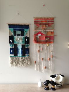 Woven textiles by Maryanne Moodie