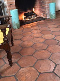 Hexagon tecate floors